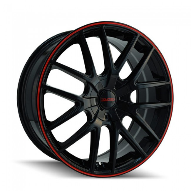 Touren TR60, Black Red wheel