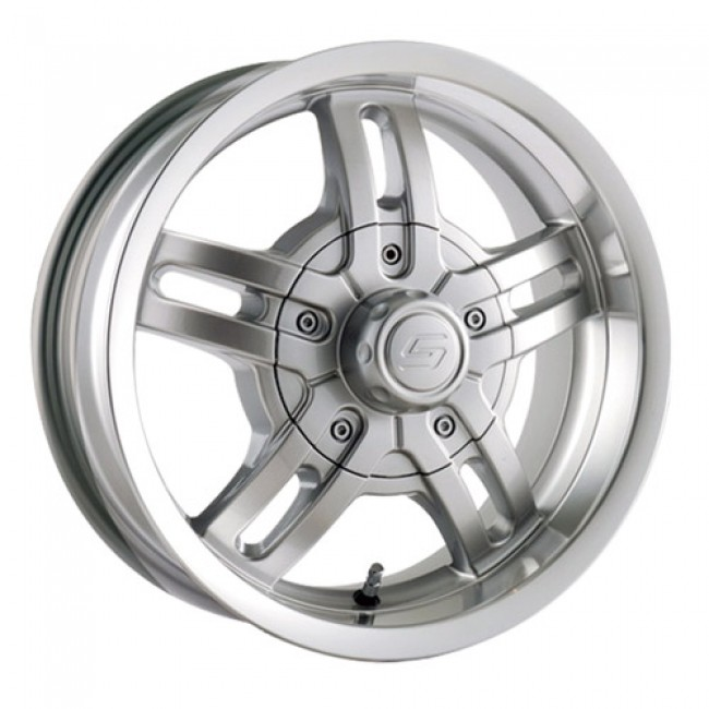 Trailer Wheels 12 Silver / Argent, 15X6, 5x114.3/120.65 ,(déport/offset 0 ) 83.82
