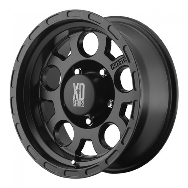 KMC Wheels Enduro, Matte Black wheel