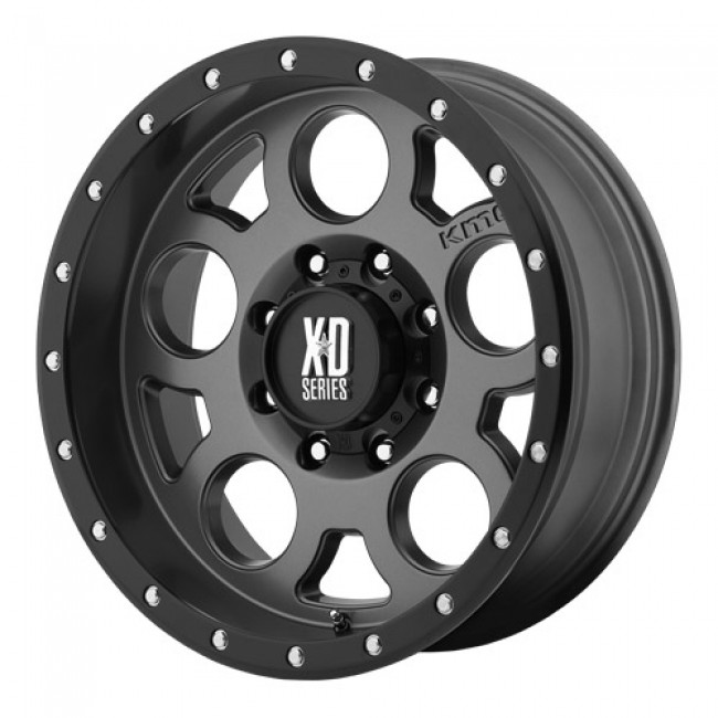 KMC Wheels Enduro Pro, Grey wheel