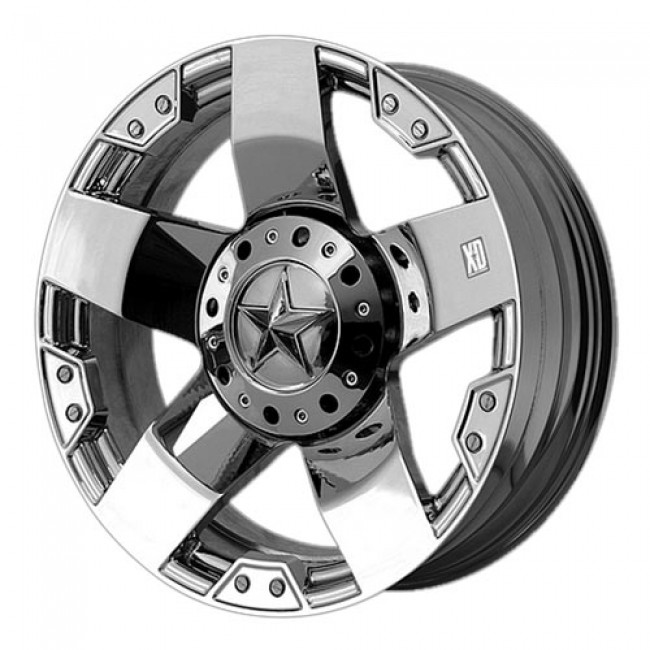 KMC Wheels Rockstar, Chrome wheel