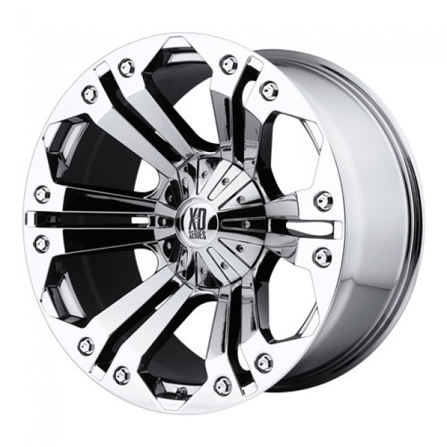 KMC Wheels Monster, Chrome wheel