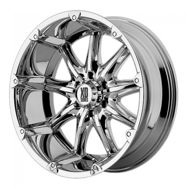 KMC Wheels Badlands, Chrome wheel