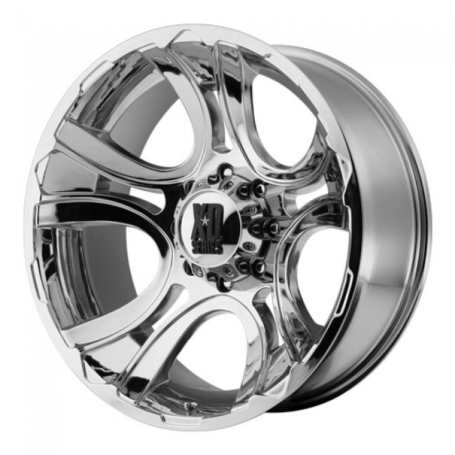 KMC Wheels Crank, Chrome wheel