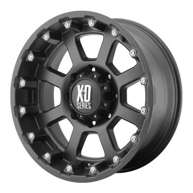 KMC Wheels Strike, Matte Black wheel