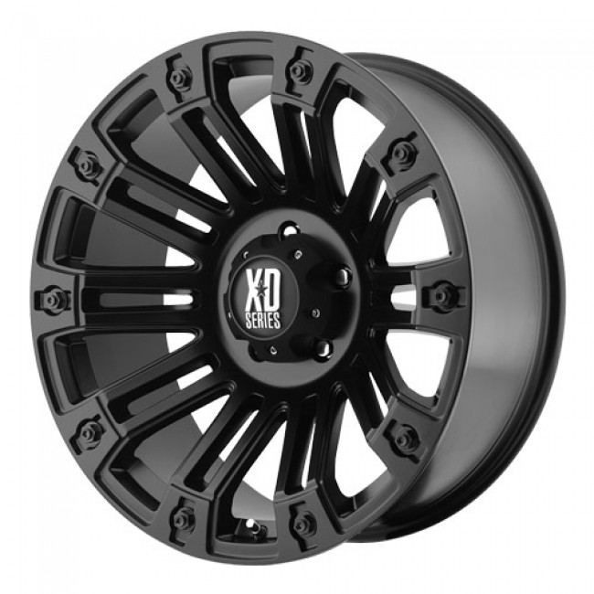 KMC Wheels Brigade, Satin Black wheel