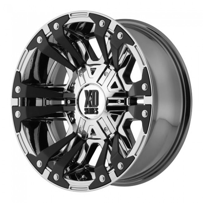 KMC Wheels Monster 2, PVD Chrome wheel