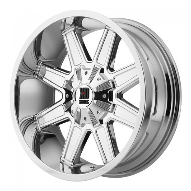 KMC Wheels Trap, PVD Chrome wheel