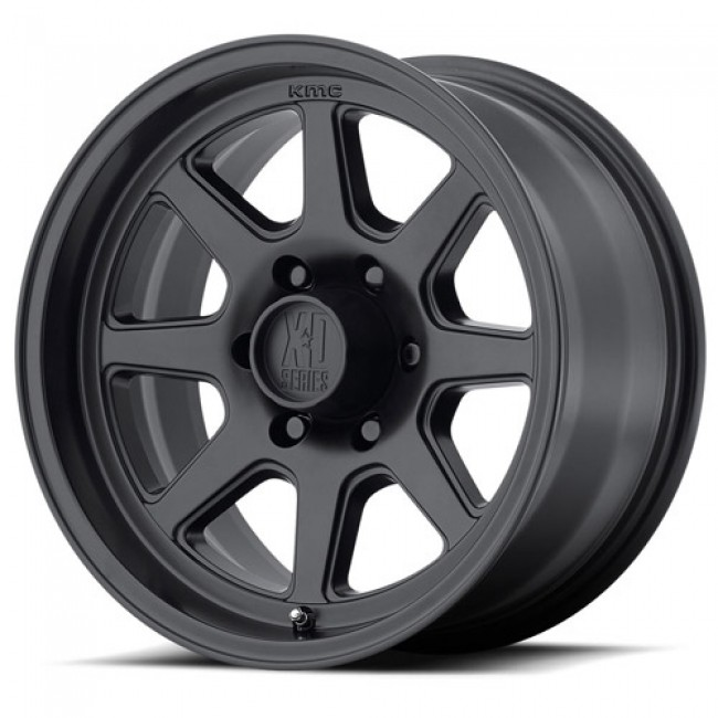 XD Series by KMC Wheels XD301 TURBINE, Satin Black wheel