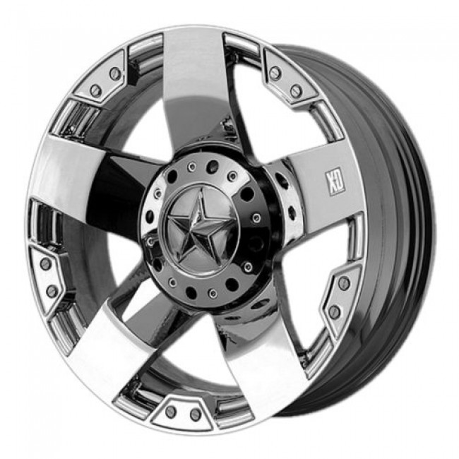 XD Series by KMC Wheels XD775 ROCKSTAR, Chrome Plated wheel