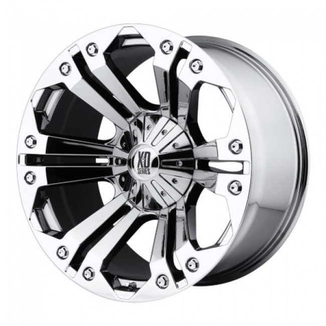 XD Series by KMC Wheels XD778 MONSTER, Chrome Plated wheel
