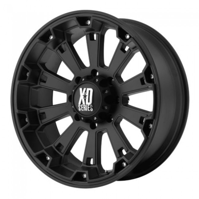 XD Series by KMC Wheels XD800 MISFIT, Matte Black wheel
