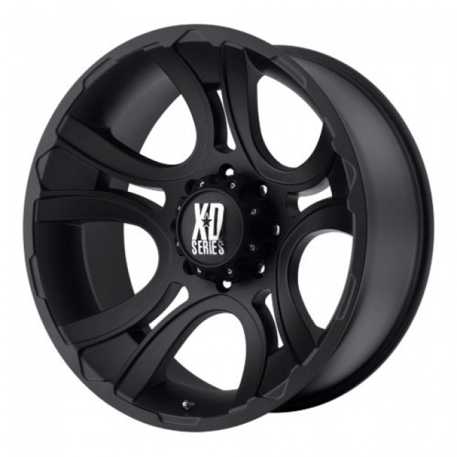 XD Series by KMC Wheels XD801 CRANK, Matte Black wheel