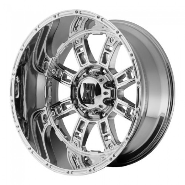 XD Series by KMC Wheels XD809 RIOT, Chrome Plated wheel