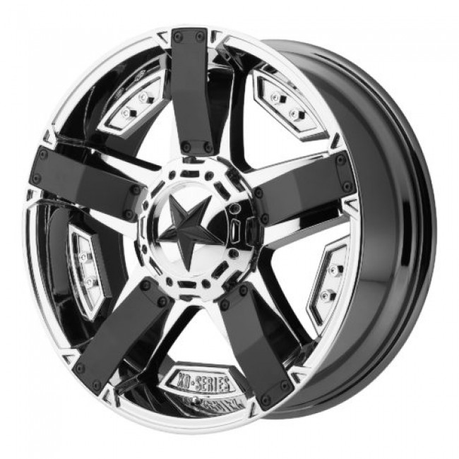 XD Series by KMC Wheels XD811 ROCKSTAR II, Chrome wheel