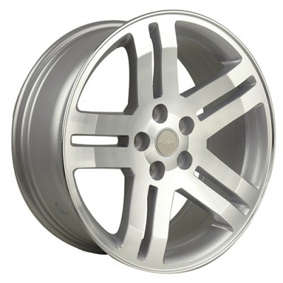 Macpek Dodge Hyper Silver wheel (18X7.5, 5x114.3, 71.5, 22 offset)