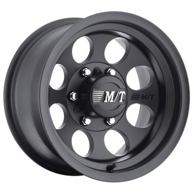 Mickey Thompson Classic III Black Satin Black wheel (16X8, 6x139.7, 130.1, 0 offset)