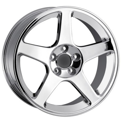 Detroit  815 Chrome wheel (18X9, 5x114.3, 70.7, 26 offset)