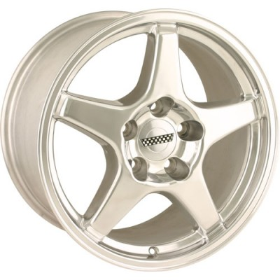Detroit  840 Polished wheel (17X11, 5x120.65, 70.7, 36 offset)