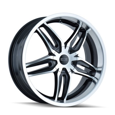Dip BIONIC Machine Black wheel (18X7.5, 5x108, 72.62, 40 offset)