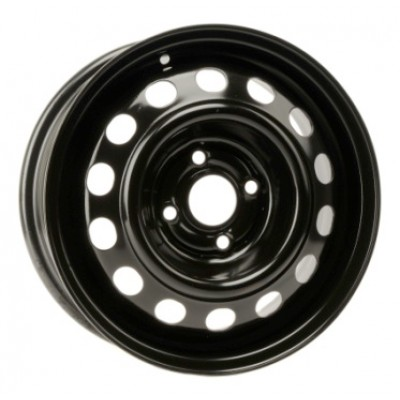 PMC Steel Wheels Black wheel (14X5.5, 4x100, 56.1, 45 offset)