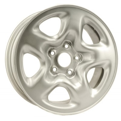 DTD Steel Wheels Silver wheel (16X7, 5x114.3, 60.1, 45 offset)
