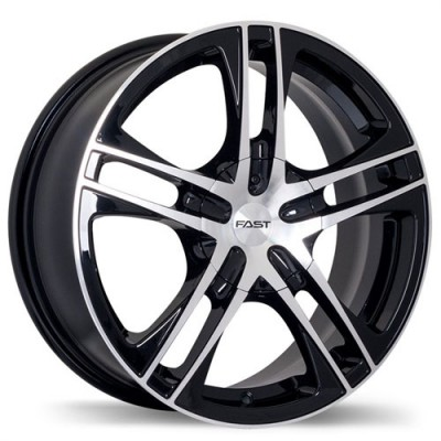 Fastwheels Reverb Machine Black wheel (16X7, 4x100, 73, 42 offset)