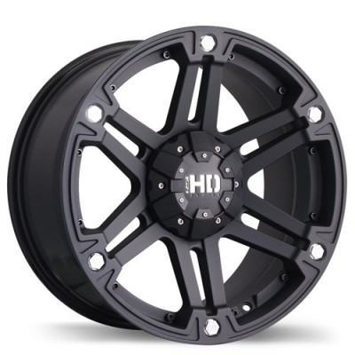 Fastwheels Reactor Matte Black wheel (17X8, 6x139.7, 108.1, 20 offset)