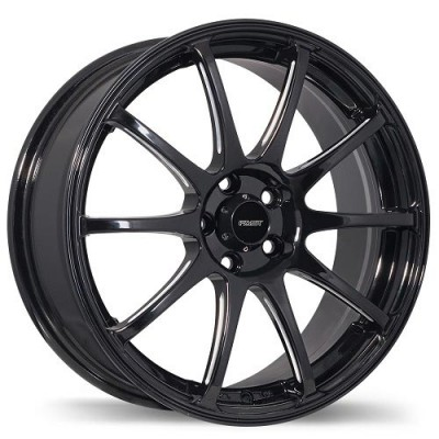 Fastwheels Underground Machine Black wheel (17X7, 4x100, 73, 42 offset)