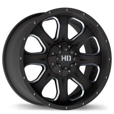 Fastwheels C4 Matte Black wheel (17X8, 6x135/139.7, 106, 20 offset)
