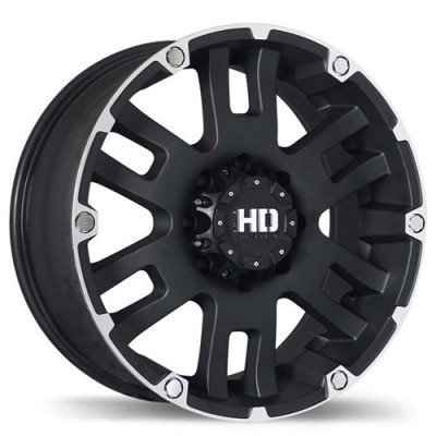 Fastwheels Mammoth Matte Black wheel (20X9, 8x170, 124.9, 20 offset)