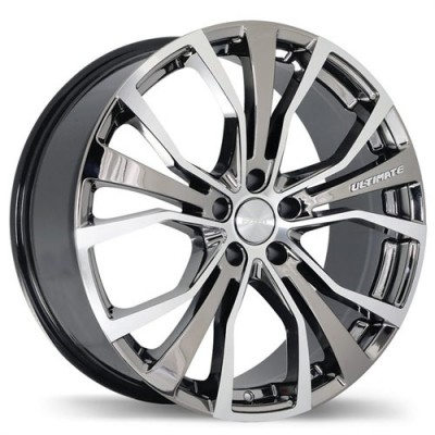Fastwheels Ultimate Chrome wheel (20X8.5, 5x120, 72.6, 45 offset)