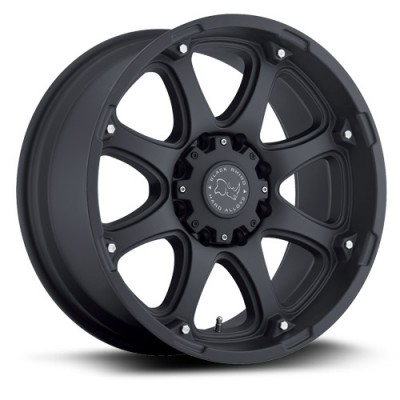 Black Rhino Glamis Black wheel (17X9, 6x135, 87, 12 offset)