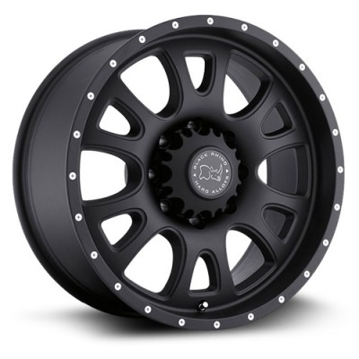 Black Rhino Lucerne Matte Black wheel (20X9, 5x139.7, 78.1, 0 offset)
