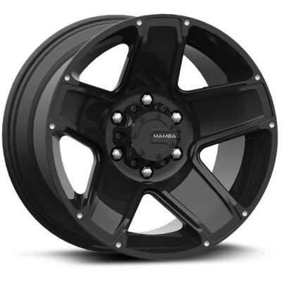 Mamba M13 Matte Black wheel (17X9, 6x139.7, 106.1, 12 offset)