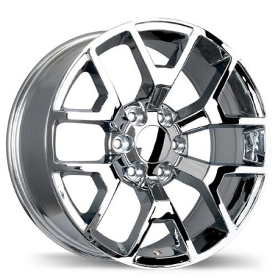 Replika Wheels R162 Chrome wheel (20X9, 6x139.7, 78.1, 27 offset)