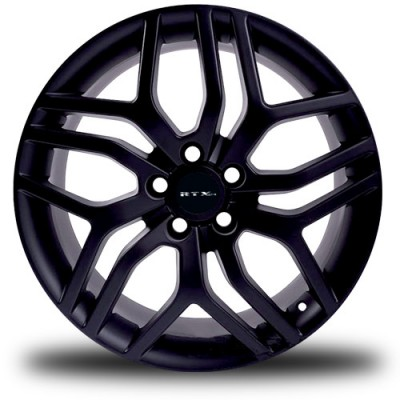 RTX Wheels MK7 Black wheel (17X7.5, 5x112, 57.1, 42 offset)