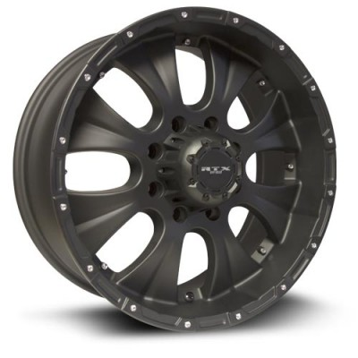 RTX Wheels Crawler Black wheel (17X8, 5x127, 71.5, 20 offset)