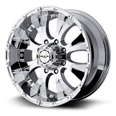 RTX Wheels Crawler Chrome Plated wheel (17X8, 8x165.1, 130, 20 offset)