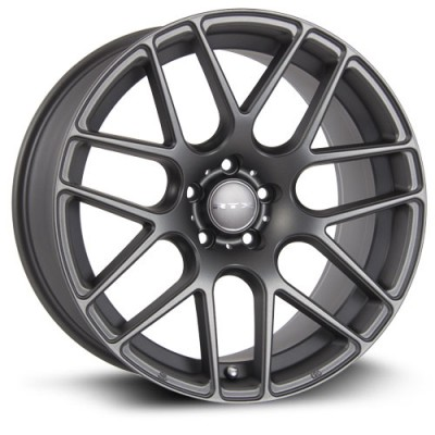 RTX Wheels Envy Matte Gun Metal wheel (17X7.5, 5x120, 72.6, 38 offset)