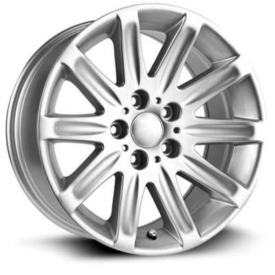 RTX Wheels Frankfurt Silver wheel (17X8, 5x120, 74.1, 20 offset)