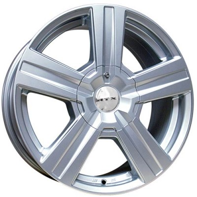 RTX Wheels Torrent Silver wheel (18X8, 6x135/139.7, 87.1, 35 offset)