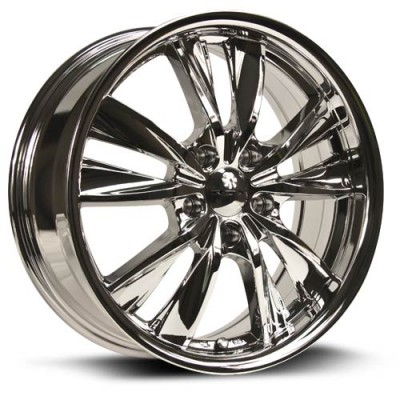 RTX Wheels Twist Chrome wheel (17X7, 5x114.3, 73.1, 40 offset)