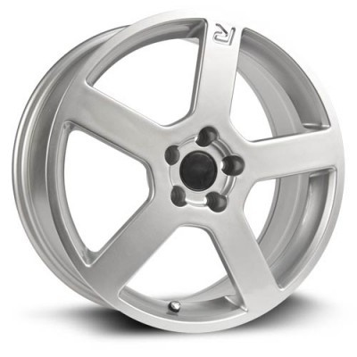 RTX Wheels Type R Silver wheel (17X7.5, 5x108, 67, 49 offset)