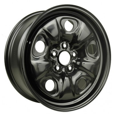 Macpek Steel Wheels Black wheel (18X7.5, 5x120, 67, 38 offset)