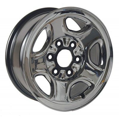 Macpek Steel Wheels Black wheel (16X6.5, 6x139.7, 78, 31 offset)