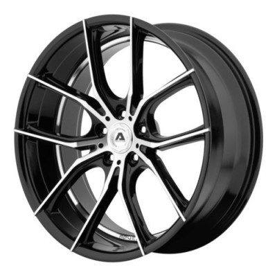 Adventus AVX-6 Gloss Black Machine wheel (22X10, 5x112, 74.10, 38 offset)