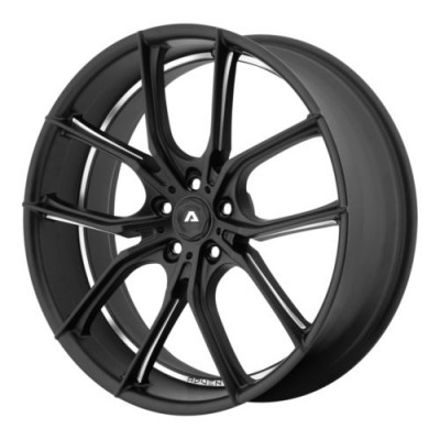 Adventus AVX-6 Matt Black Machine wheel (22X10, 5x120, 74.10, 20 offset)