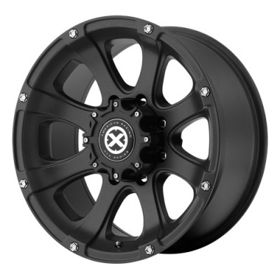 ATX Ledge AX188 Black wheel (17X8, 6x139.7, 130.1, 0 offset)