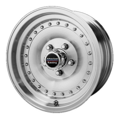 American Racing AR61 OUTLAW I Machine Black wheel (14X7, 5x120.65, 83.06, 0 offset)